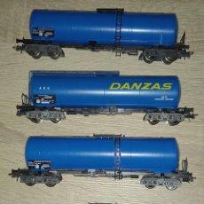 Trenes Escala: VAGONES CISTERNA MARKLIN. Lote 278802138