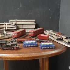 Trenes Escala: LOTE DE TRENES Y LOCOMOTORAS ELECTRICO MARKLIN. Lote 278944443