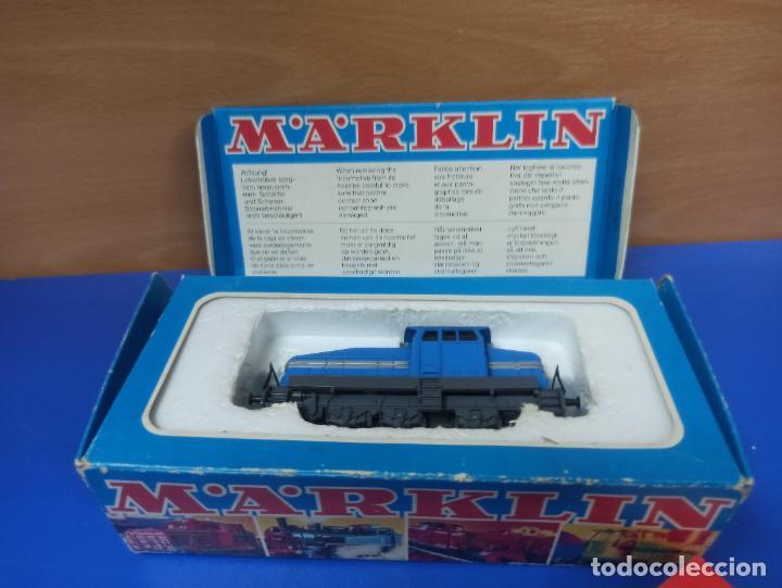 BONITA LOCOMOTORA DIESEL DHG 500 TREN MARKLIN REF 3078 EN CAJA ORIGINAL (Juguetes - Trenes a Escala - Marklin H0)