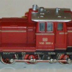 Trenes Escala: MARKLIN HO, LOCOMOTORA DIESEL V60 1009 DB REF. 3065 CON TELEX, ¡DIGITALIZADA!. Lote 279506098