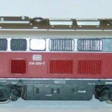 Trenes Escala: MARKLIN HO, LOCOMOTORA DIGITAL BR216 0257 DB RF.3075, MOTOR DC DECODER A ELEGIR. Lote 279506443