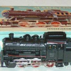 Trenes Escala: MARKLIN HO, LOCOMOTORA DE VAPOR ANTIGUA R.3000 89005 DIGITAL UHLENBROCK CON CAJA. Lote 279519688