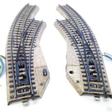 Trenes Escala: JIFFY VENDE DESVÍOS CURVOS MARKLIN VÍA M 5141 Y 5142 (CONJUNTO 5140) H0. LOTE ULJ008. Lote 279555718