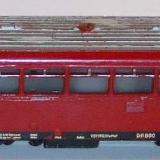 Trenes Escala: MARKLIN HO, FERROBÚS ANALÓGICO MUY ANTIGUO REF. DB 800, DIGITAL OPCIONAL. Lote 283380448
