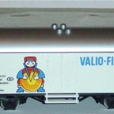 """Trenes Escala: MÄRKLIN HO, VAGÓN FRIGORÍFICO EXCELENTE """"VALIO-FINLAND"""" REF. 4568 CON CAJA. Lote 283385078"""