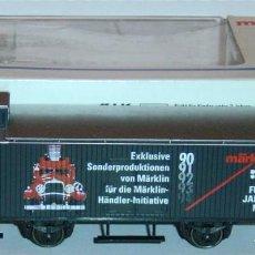 Trenes Escala: MÄRKLIN HO, VAGÓN EXCELENTE CERRADO REF. 4890 31979 CON CAJA, SERIE EXCLUSIVA. Lote 283386313