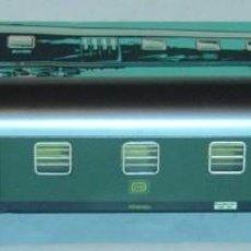 Trenes Escala: MARKLIN HO, COCHE CORREO REF. 4044, ILUMINACIÓN INTERIOR Y LUZ DE COLA ORIGINAL. Lote 283441753