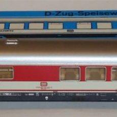 Trenes Escala: MARKLIN HO, COCHE RESTAURANTE REF 4054, ILUMINACIÓN INTERIOR ORIGINAL, CON CAJA. Lote 283635973