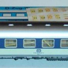 Trenes Escala: MARKLIN HO, COCHE DE 2ª CLASE DB REF. 4092 ¡CON LUZ!, CON CAJA. Lote 283636868