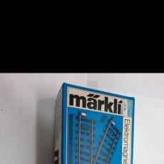 Trenes Escala: MARKLIN HO 2 DESVIOS 5202 EN SU CAJA! MAS UNIDADES IGUALES EN OTRAS SUBASTAS.. Lote 284404293