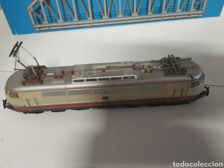 Trenes Escala: Lote marklin locomotora , vagón y puente - Foto 4 - 285460983