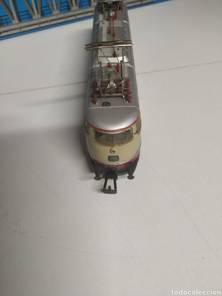 Trenes Escala: Lote marklin locomotora , vagón y puente - Foto 5 - 285460983