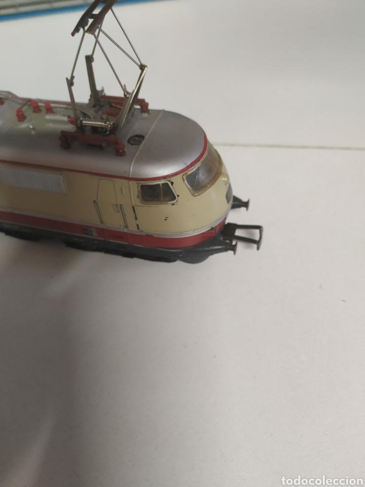 Trenes Escala: Lote marklin locomotora , vagón y puente - Foto 6 - 285460983