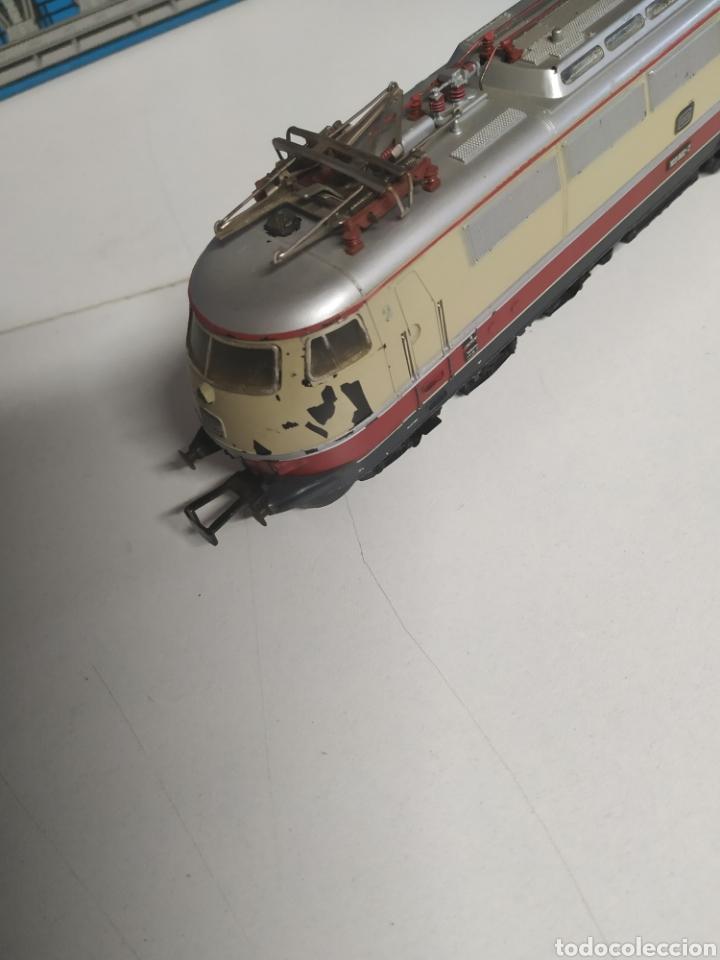 Trenes Escala: Lote marklin locomotora , vagón y puente - Foto 7 - 285460983