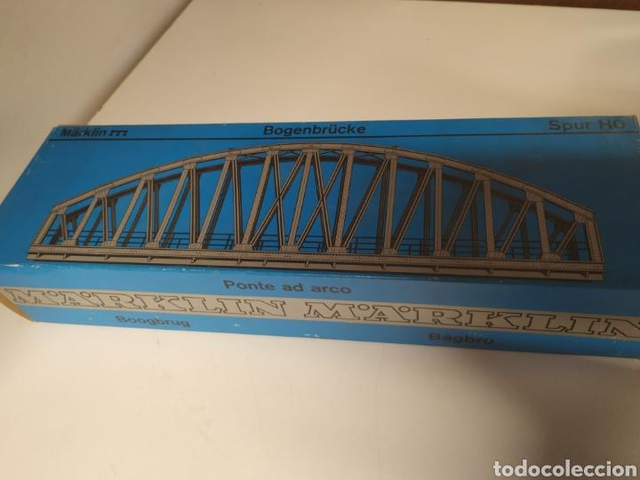 Trenes Escala: Lote marklin locomotora , vagón y puente - Foto 11 - 285460983