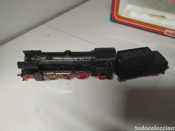 Trenes Escala: Carbonera marklin 3005 con un vagón - Foto 2 - 285765643