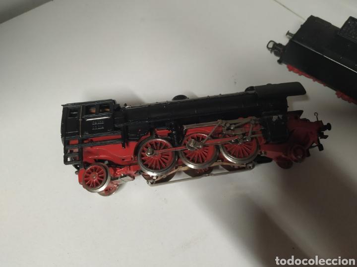 Trenes Escala: Carbonera marklin 3005 con un vagón - Foto 4 - 285765643