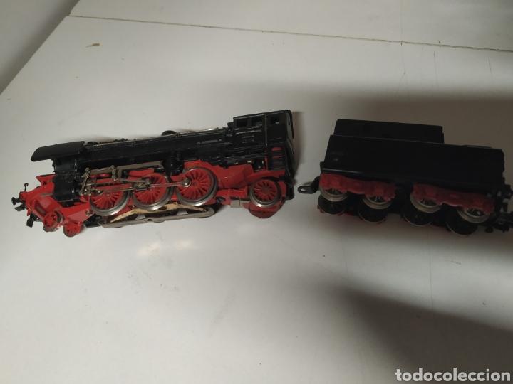 Trenes Escala: Carbonera marklin 3005 con un vagón - Foto 5 - 285765643