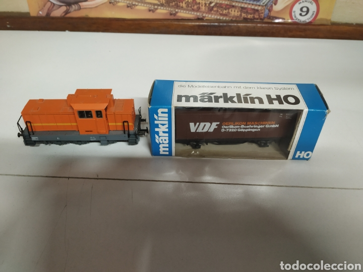 LOCOMOTORA MARKLIN HENSCHEL (Juguetes - Trenes a Escala - Marklin H0)