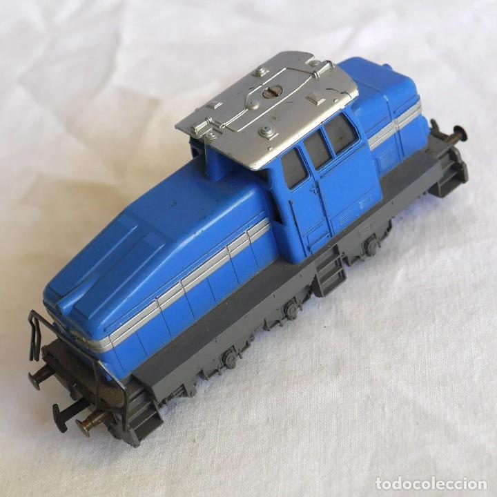 LOCOMOTORA DIESEL MARKLIN HENSCHEL DHG 500 ESCALA H0 (Juguetes - Trenes a Escala - Marklin H0)