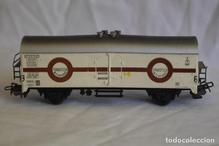 Trenes Escala: Vagón Marklin frigorífico Transfesa Interfrio escala H0 - Foto 2 - 287992023