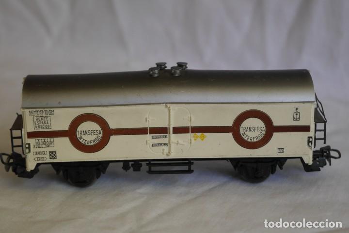 Trenes Escala: Vagón Marklin frigorífico Transfesa Interfrio escala H0 - Foto 4 - 287992023