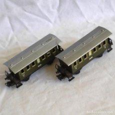Trenes Escala: 2 VAGONES DE METAL MARKLIN DE PASAJEROS BOLL GOPPINGEN HO. Lote 287992138