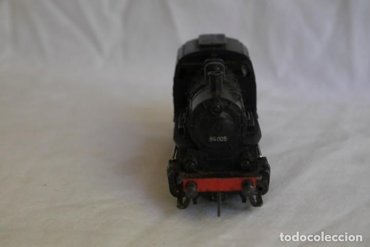 Trenes Escala: Locomotora de vapor Marklin 89005 + vagón deposito BP, H0 - Foto 3 - 287992258