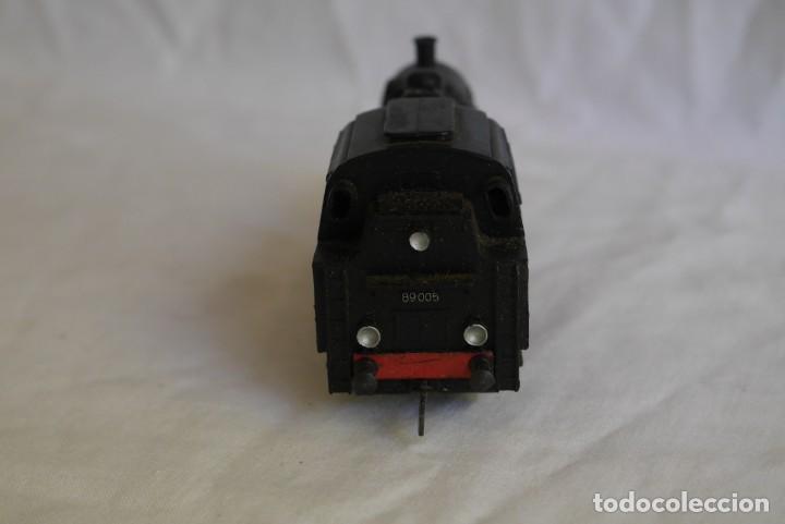 Trenes Escala: Locomotora de vapor Marklin 89005 + vagón deposito BP, H0 - Foto 5 - 287992258