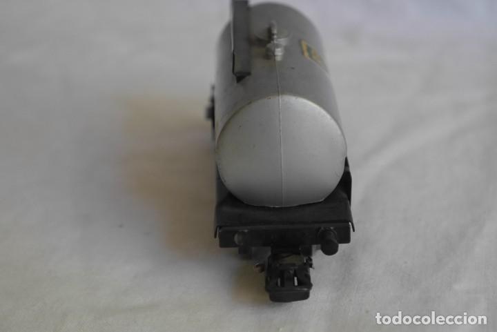 Trenes Escala: Locomotora de vapor Marklin 89005 + vagón deposito BP, H0 - Foto 10 - 287992258