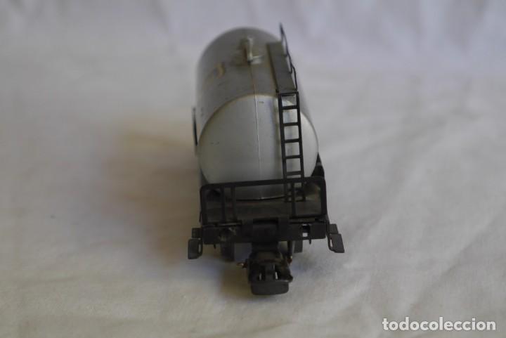 Trenes Escala: Locomotora de vapor Marklin 89005 + vagón deposito BP, H0 - Foto 12 - 287992258