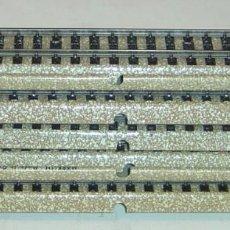 Trenes Escala: MARKLIN ESCALA HO 10 VIAS RECTAS TIPO M, 18 CM., REF. 5106, SIN CAJA. Lote 288174093
