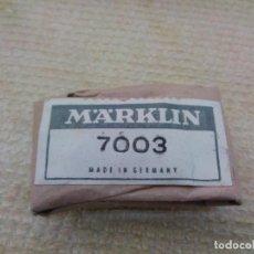 Treni in Scala: CABLE MARKLIN NUEVO 7003. Lote 288319478