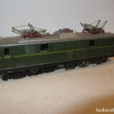 Trenes Escala: LOCOMOTORA MARKLIN MOD 3036 AUSTRIACA VERDE FUNCIONANDO,BARATA. Lote 288396263
