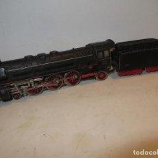 Trenes Escala: MARKLIN LOCOMOTORA DE VAPOR DB BR - 01 097 REF 3048 FUMÍGENO,FUNCIONANDO CON LUCES.BARATA. Lote 288397313