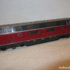 Trenes Escala: MARKLIN H0 LOCOMOTORA DIESEL V 200 DE LA DB, REFERENCIA 3021.12,FUNCIONANDO,BARATA. Lote 288397828