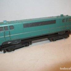 Trenes Escala: MARKLIN LOCOMOTORA SNCF 9223 VERDE,VER DESCRIPCION. Lote 288399868