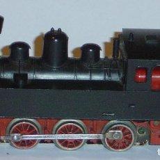 Trenes Escala: MARKLIN HO, LOCOMOTORA DE VAPOR ANTIGUA REF. 3090 NEGRA (5), DIGITAL OPCIONAL. Lote 288979608