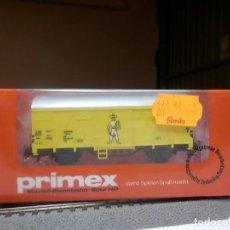 Trenes Escala: VAGÓN CERRADO ESCALA HO DE MARKLIN PRIMEX. Lote 289017268