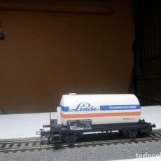 Trenes Escala: VAGÓN CISTERNA ESCALA HO DE MARKLIN. Lote 289018178
