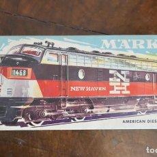Trenes Escala: LOCOMOTORA MARKLIN NEW HAVEN (NH) 337. AMERICAN DIESEL LOCOMOTIVE. Lote 289300333