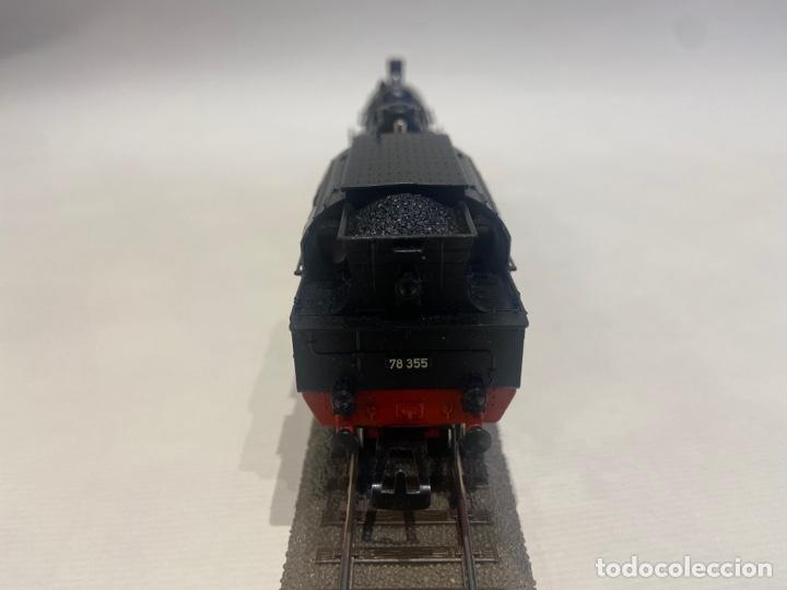 Trenes Escala: Locomotora a vapor Marklin. Original. H0. Digital. - Foto 4 - 289618943