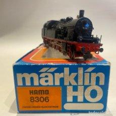 Trenes Escala: LOCOMOTORA A VAPOR MARKLIN. ORIGINAL. H0. DIGITAL.. Lote 289618943