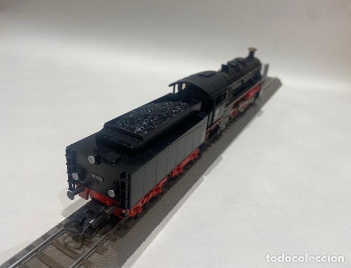 Trenes Escala: Locomotora a vapor Marklin. Original. H0. Digital - Foto 4 - 289623478