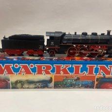 Trenes Escala: LOCOMOTORA A VAPOR MARKLIN. ORIGINAL. H0. DIGITAL. Lote 289623478