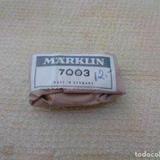 Trenes Escala: TRAMO CABLE MARKLIN 7003. Lote 289807263