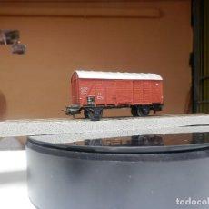 Trenes Escala: VAGÓN CERRADO ESCALA HO DE MARKLIN. Lote 289854698