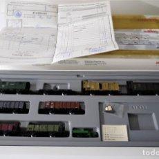 Trenes Escala: MARKLIN SET DE VAGONES DE LOS FERROCARRILES ALEMANES 4789. Lote 290087743