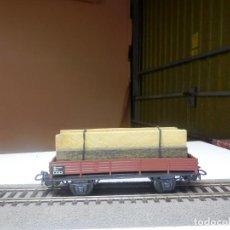 Trenes Escala: VAGÓN BORDE BAJO ESCALA HO DE MARKLIN. Lote 290094923