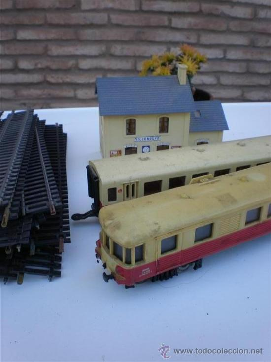 Trenes Escala: tren a escala N-17 con locomotora , vagon, estacion - Foto 3 - 10912337